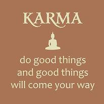 karma do good things