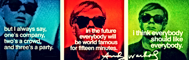 Andy Warhol Social Media