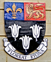 Motto Latin Floreat Etona Let Eton flourish