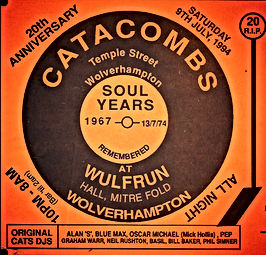 wolverhampton the catacombs northern soul reunion 20th anniversary wulfrun hall