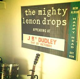 THE MIGHTY LEMON DROPS JBS DUDLEY NEW ALBUM HAPPY HEAD