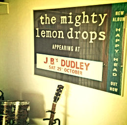 THE MIGHTY LEMON DROPS JBS DUDLEY NEW ALBUM HAPPY HEAD