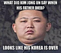 kim jong un korea father