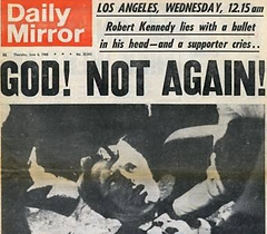 RFK GOD NOT AGAIN Daily Mirror
