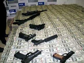 mexico drug money guns