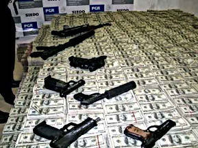 mexico drug money guns