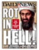 daily news bin laden rot in hell