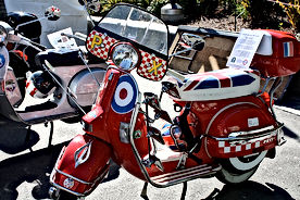 vespa px scooter classic mod