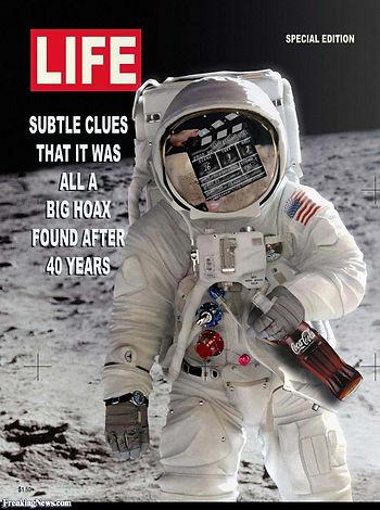 Moon Landing Hoax Life Coke