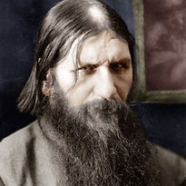 rasputin tinted color photo