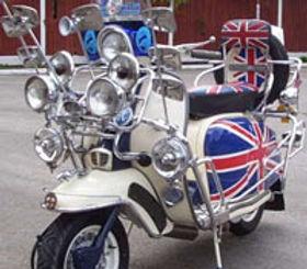 Lambretta Union Jack