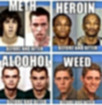 drugs before and after