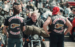 The Bulldog Bash Hells Angels England