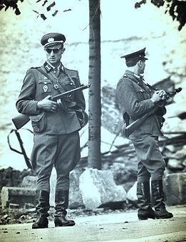 Germany Berlin Wall Border Guards