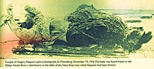 corpse of rasputin december the 19th 1916