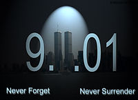 never forget never surrender 9 11 01