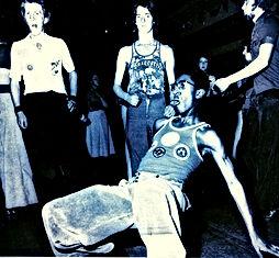 wolverhampton catacombs classic back flip on the dance floor