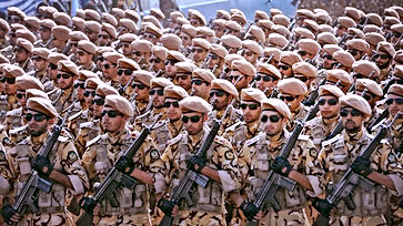 cool iranian soldiers in sunglasses
