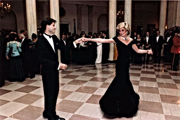 Lady Diana Dancing With John Travolta