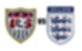 US VS ENGLAND badges great football