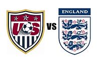 US VS ENGLAND badges great football