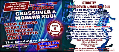 crossover and modern soul the bradmore club wolverhampton