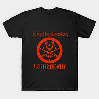 The Key of Joy is Disobedience T-Shirt