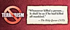 the holy quran terrorism