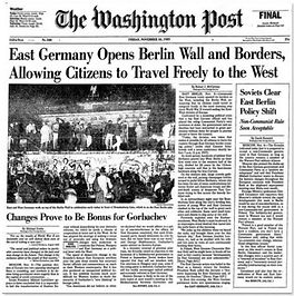 east germany opens berlin wall