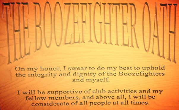 the boozefighter oath