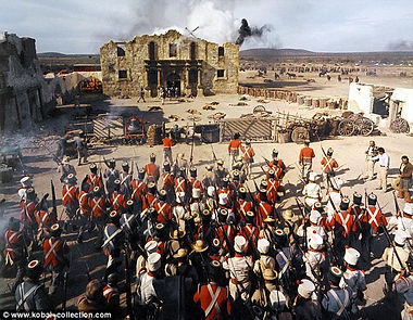 texans last stand mexican soldiers advance on th alamo
