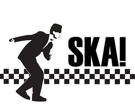 ska 2 tone BLACK AND WHITE