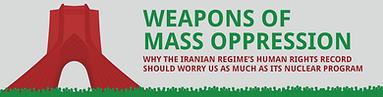 iran weapons of mass oppression