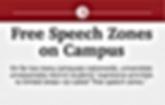 free speech zones on campus