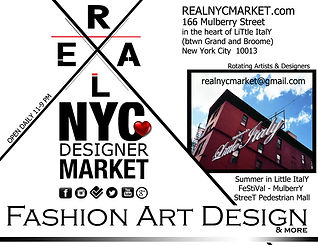 real nyc designer market fashion art design