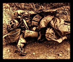 world war one decomposed german soldier