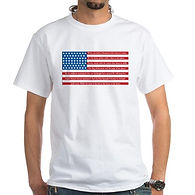 LAND OF THE FREE HOME OF THE BRAVE T SHIRT