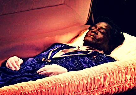 james brown coffin