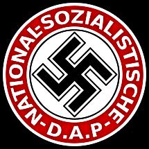 National Sozialische DAP swastika