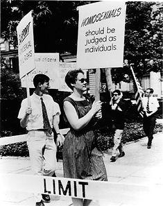 gay equality activist barbara gittings 1965