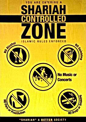 shariah controlled zone on its way to your town soon sharia a better society