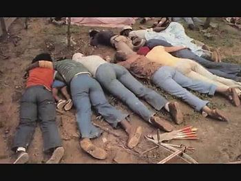 jonestown dead bodies