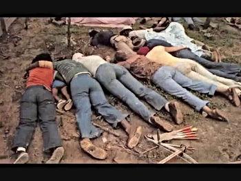 jonestown dead bodies