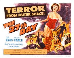27th Day b movie