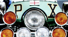 england vespa px scooter fly screen and lights