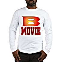 B MOVIE Long Sleeve T-Shirt 6.1 oz. 100% soft ring spun cotton Standard fit Ribbed sleeve cuffs Machine Wash Cold Tumble Dry Low