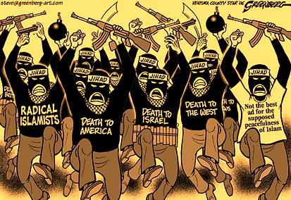 radical islamists death to america