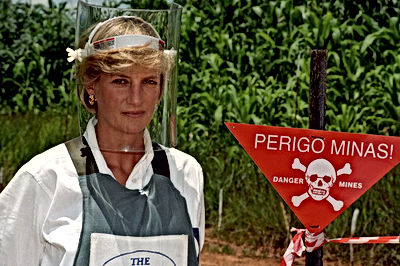 Lady Diana Land Mines