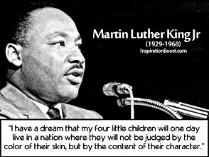 Martin Luther King I have a dream 1929 1968