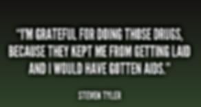 steven tyler i would have gotten aids
